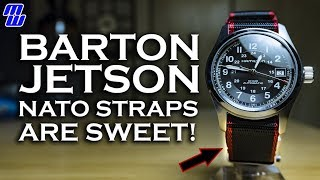 Barton Jetson NATO Straps: Strong, Shiny Goodness + Ted and Uncle Jimmy Do a Thing