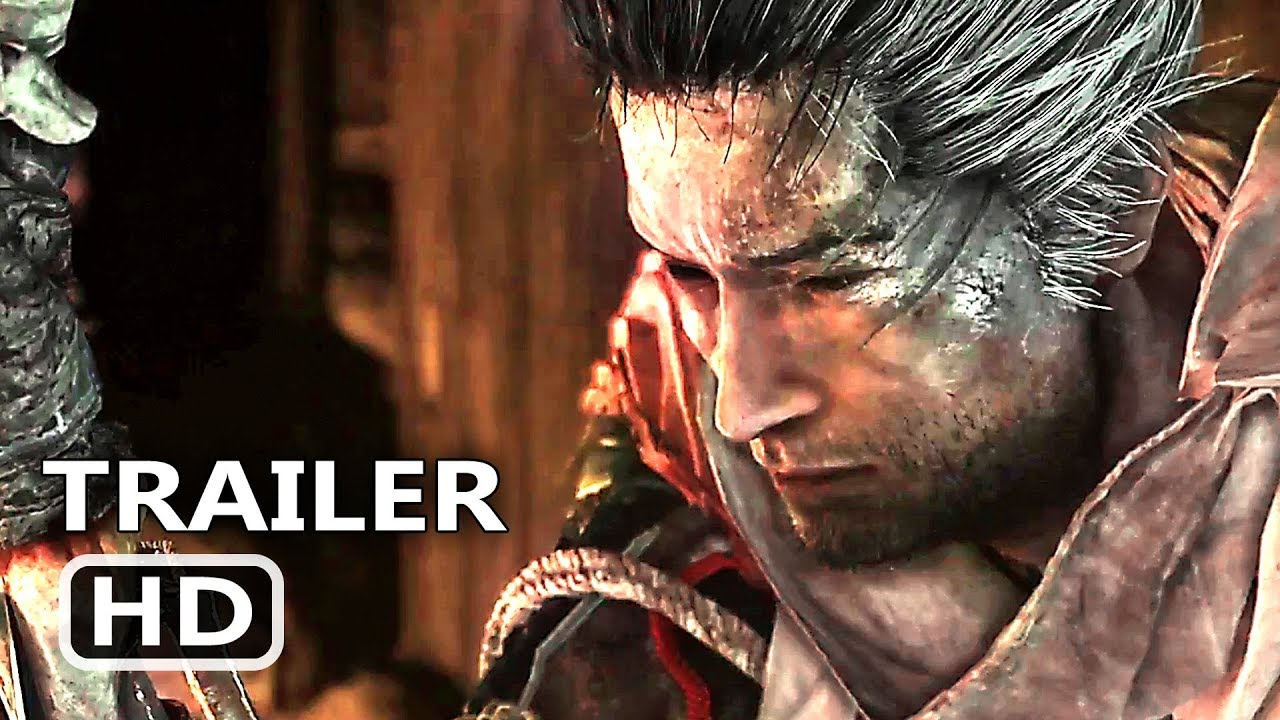 Sekiro Shadows Die Twice Official Trailer 2019 E3 2018 From Software Game Hd