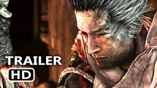 SEKIRO SHADOWS DIE TWICE Official Trailer (2019) E3 2018 From Software Game HD