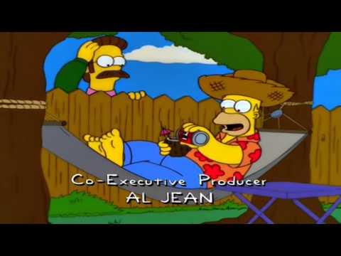 Homer Simpson Coconut Beer Song (HD)