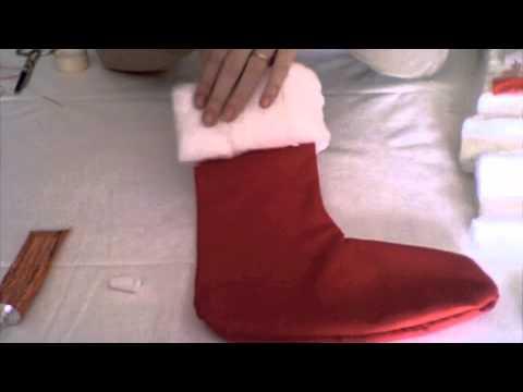 Decoraci n calcetines de navidad youtube - Calcetines de navidad personalizados ...
