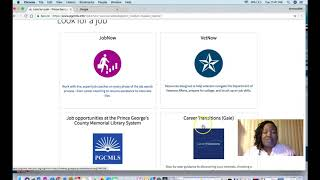 Job Seekers Virtual Library Tutorial