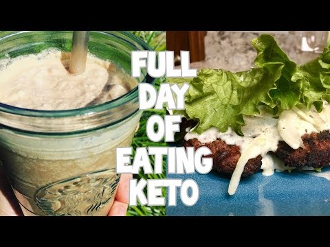 KETO Tips & The BEST Dairy-Free Ranch Dressing! (Full Day Of Eating)