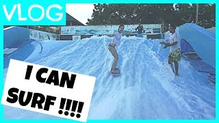 I CAN SURF !? | #teamBachdim VLOG