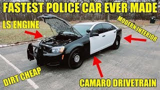 Download I Bought The Fastest Police Car Ever Made & The Cheapest Way To Buy A Modern LS CAR! 4-Door Camaro! Mp3 and Videos