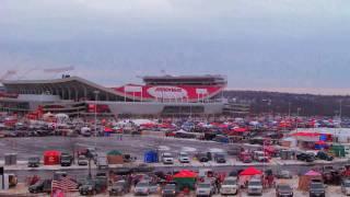 Arrowhead Stadium Timelapse Kansas City Chiefs vs. Baltimore Ravens Playoff Game
