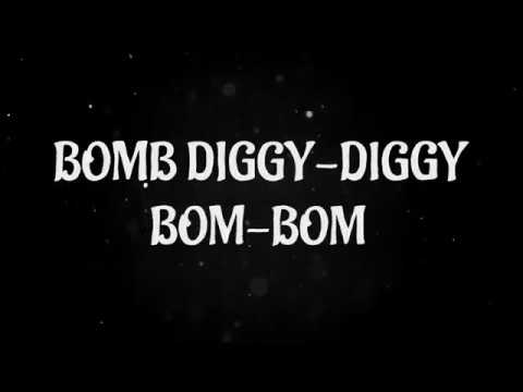 Bom Diggy Diggy (Full Lyrics) | Zack Knight | Jasmin Walia | Sonu Ke Titu Ki Sweety (LYRIC VIDEO)