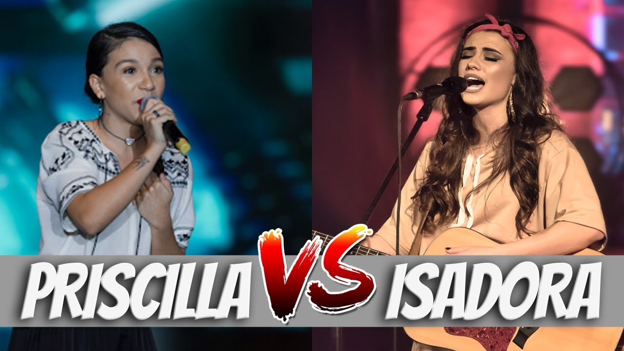 BATALHA MUSICAL | PRISCILLA ALCANTARA vs ISADORA POMPEO