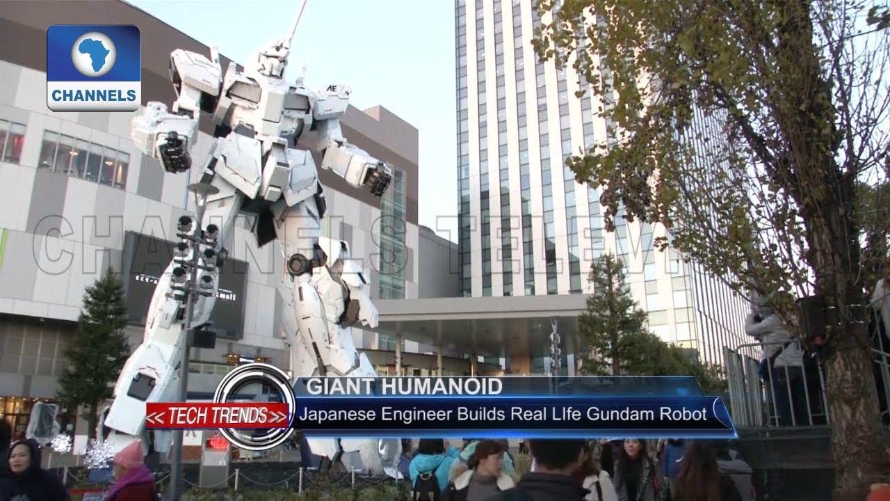 Japanese Engineer builds Real life Gundam Robot |Tech Trends|