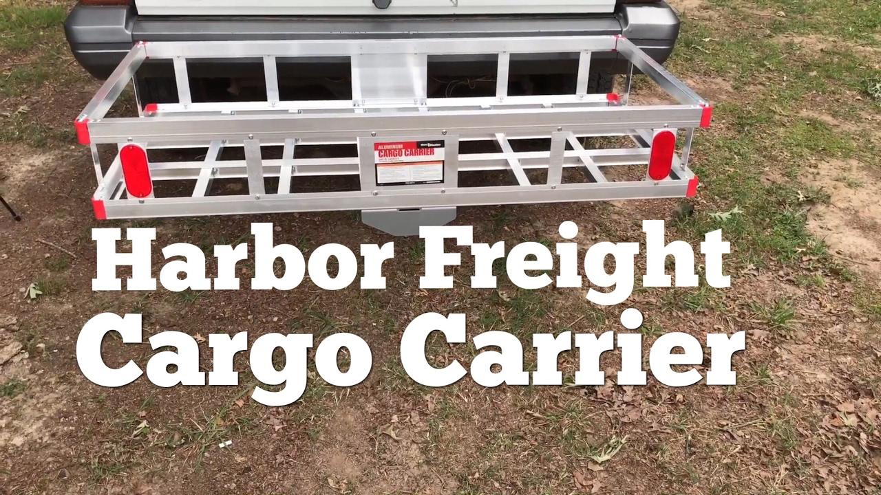 500 Lb Capacity Aluminum Cargo Carrier