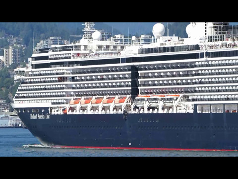 Noordam - Cruise ship in Vancouver BC July 18, 2015