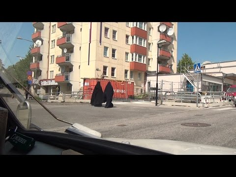 Stockholm Akalla Husby Kista Rinkeby Sweden Schweden 15.7.2015