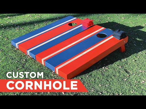 How to Custom Paint Your Cornhole Boards | Workshop Republic