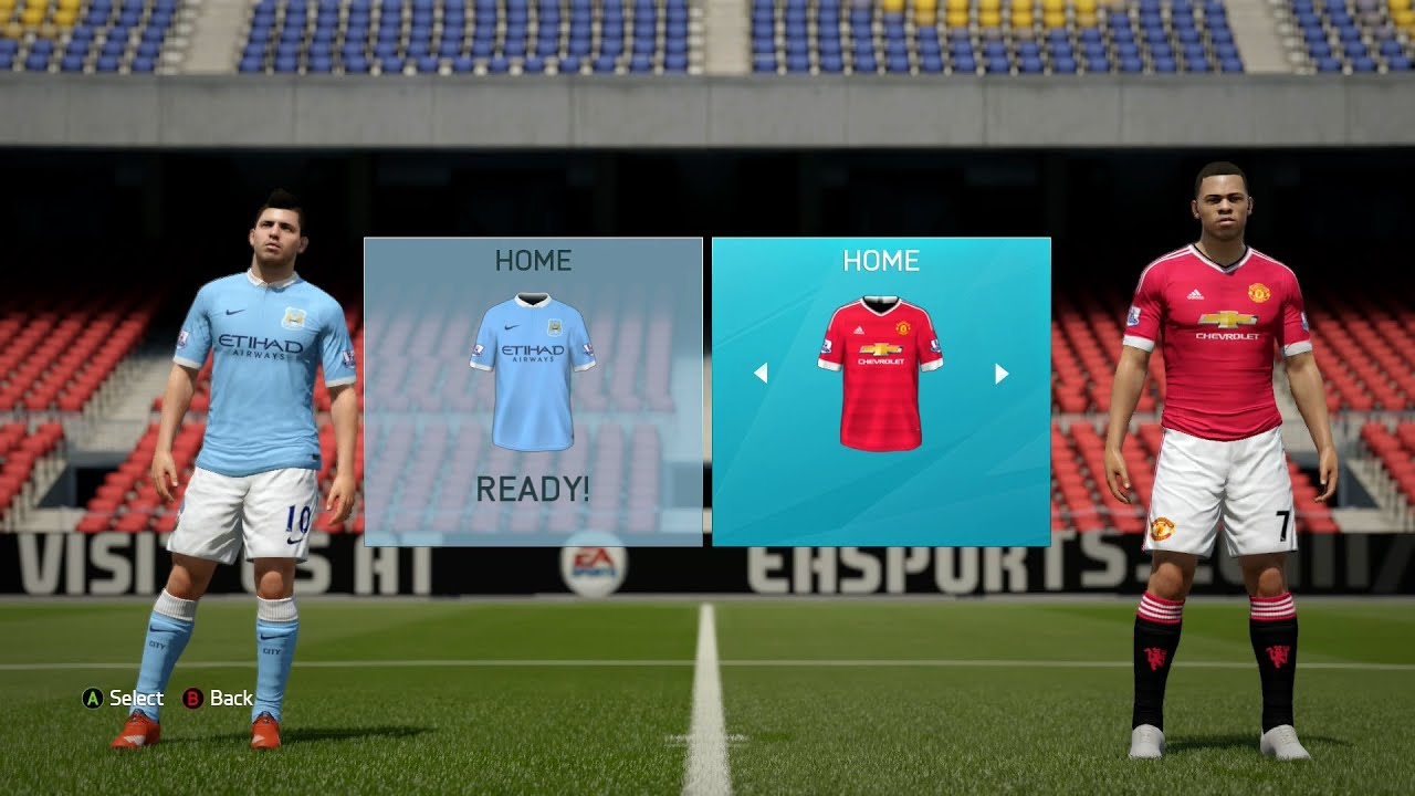 FIFA 16 - Barclays Premier League Ratings & Kits - YouTube