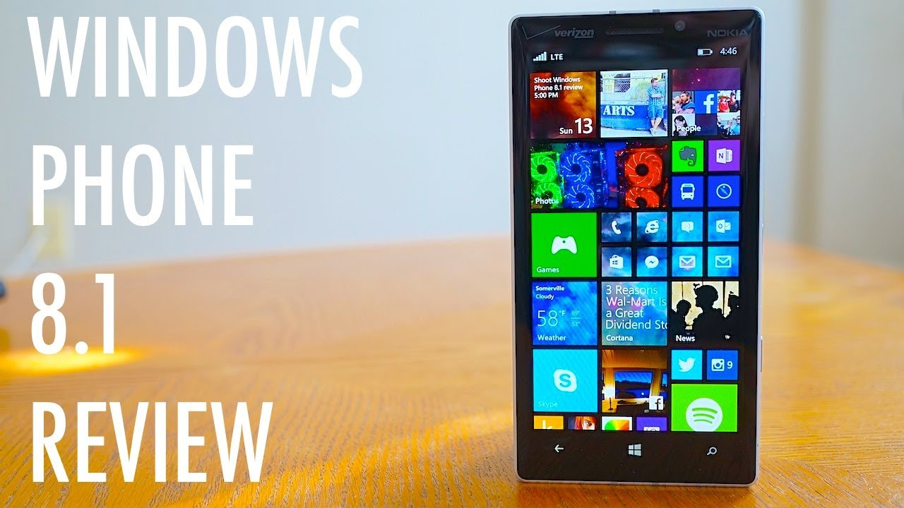 Windows 8 The Official Review: Windows Phone 8.1 Review