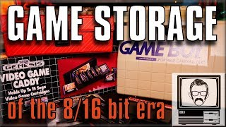 Game Storage Solutions of the 80s & 90s | Nostalgia Nerd