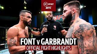 A new Bantamweight contender! Rob Font v Cody Garbrandt   UFC Fight Highlights