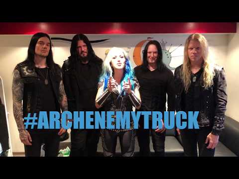 """ARCH ENEMY - """"Will To Power Tour"""" Truck Contest!"""