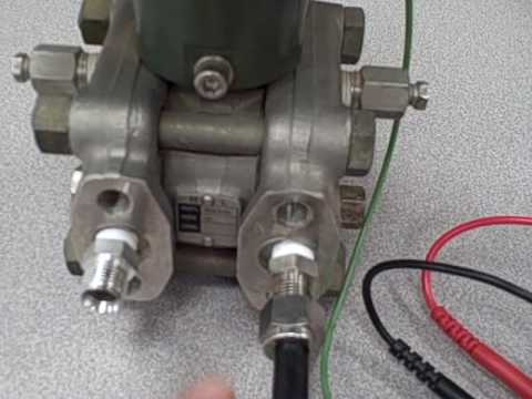 Differential pressure transmitter response -- \