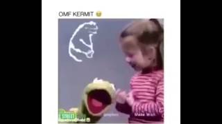 KERMIT THE FROG JUMPS OFF BUILDING !