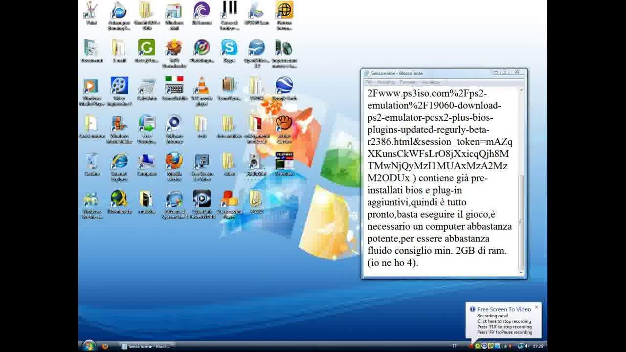 emulatore ps2 con bios