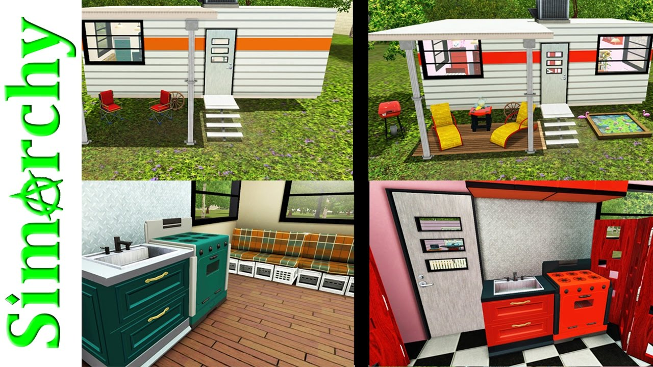 The Sims 3 House Tour - 50s Inspired Retro Camper Trailer ... Retro S Mobile Home Design on traditional design, country design, 80s design, art deco design, 3d design, 1950s textile design, 60s design, design design, oval design, cool 50s design, metal design, 50s home design, asian 50s design, retro vintage bedroom, 50s style interior design, 1950s kitchen design, vintage design, oriental design, 50s graphic design, hawaiian design,