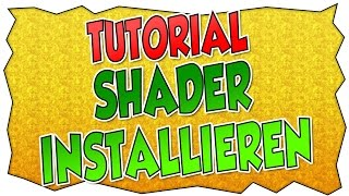 Tutorial: Shader-Pack installieren | Rockkartoffel | deutsch