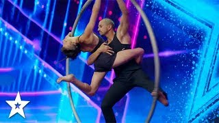 Outstanding Ring Performance on Israel's Got Talent 2018 | Got Talent Global