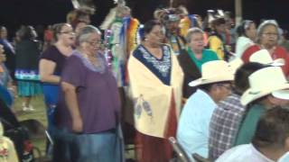 "Ponca Powwow 2012 ""Chorus Girls Song"""
