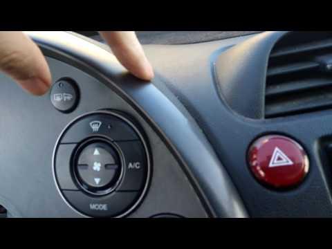 Замена лампочки в приборной панели Honda Civic 5D (8th Hatchback)