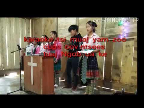 Tsi  muaj  yam  zoo  karaoke