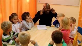 Английский с носителем в детском саду.