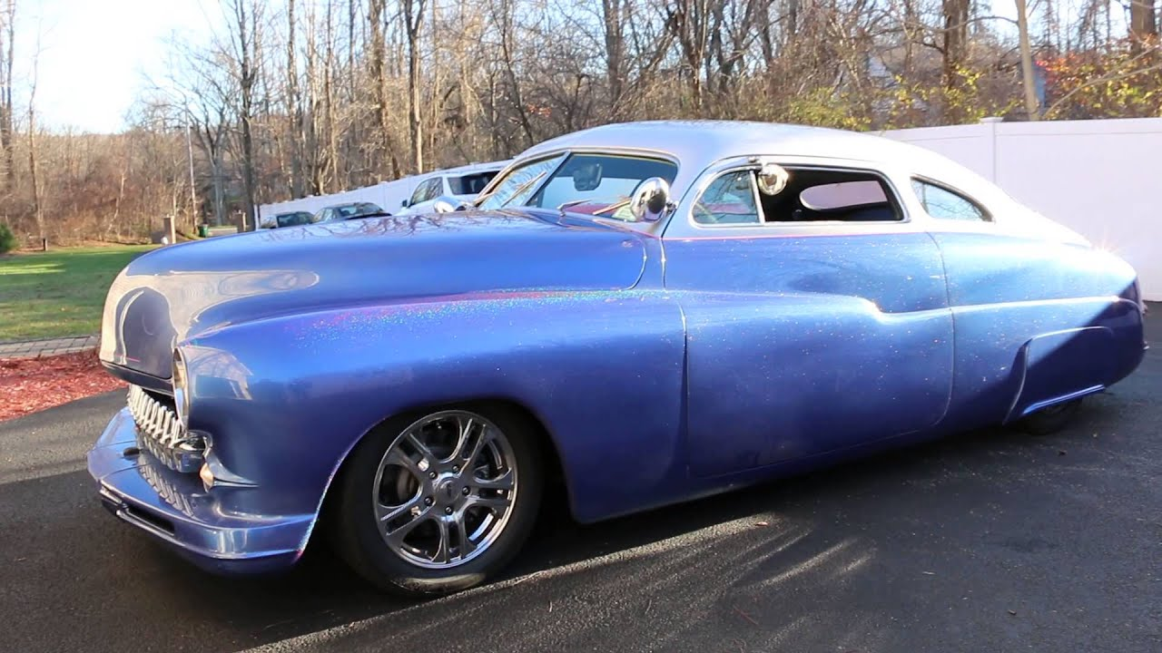 SOLD~1949 Mercury Coupe For Sale~Led Sled Dropped, Shaved ...