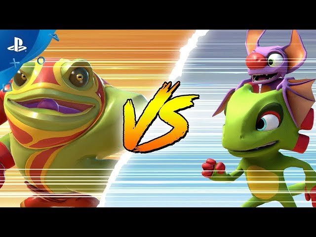Brawlout - Yooka-Laylee Reveal Trailer | PS4