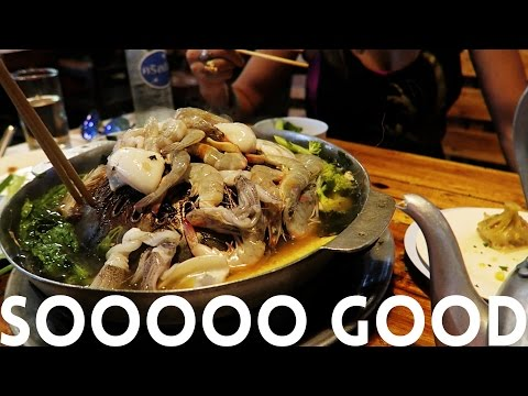 DELICIOUS, CHEAP All You Can Eat Buffet | Chiang Mai – Thailand