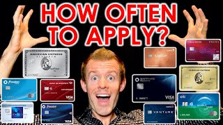 CREDIT CARDS 101: How Often To Apply For Credit Cards