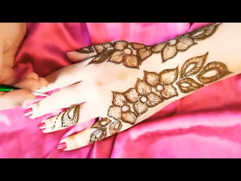 It's easy yet elegant mehndi design|| Beautiful  and simple mehndi design tutorial thumbnail