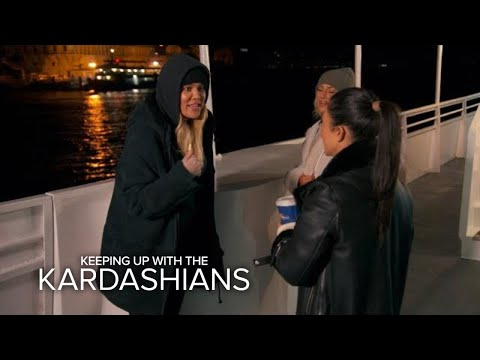"KUWTK | Khloé Calls Out Kourtney: ""What the F--k Are You Here For?!"" 
