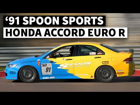 Rescued Spoon Sports Honda Accord Euro R Racecar… 1 of 1!
