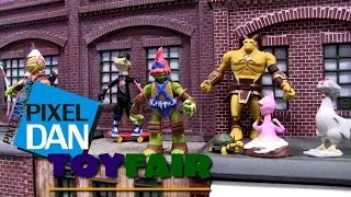 Playmates Toys Teenage Mutant Ninja Turtles Action Figures Walkthrough at Toy Fair 2015