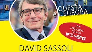 David Sassoli all'Università del Dialogo - Sermig
