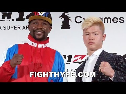 (BREAKING!) MAYWEATHER ANNOUNCES RETURN; WILL FACE UNDEFEATED KICKBOXER TENSHIN NASUKAWA ON DEC. 31
