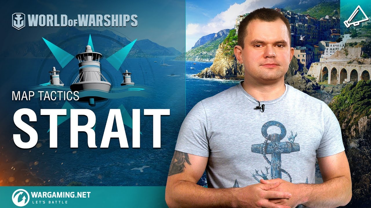 World of Warships – Map Tactics: Strait