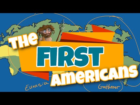 The First Americans Explanation for Kids - AH001