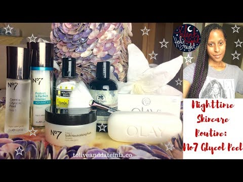 Skincare Routine At-Home Glycolic Acid Peel | Clear Hyperpigmentation
