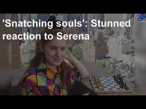 Sport: 'Snatching souls': Stunned reaction to Serena