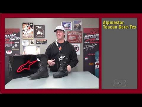 fitment guide for alpinestar toucan boots