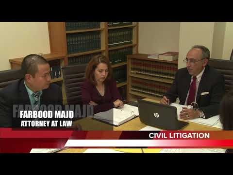 Divorce attorney in Beverly Hills, Farbood Majd Esq.