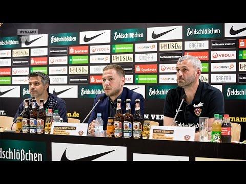 34. Spieltag | SGD - MSV | Pressekonferenz nach dem Spiel