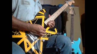 Van Halen Hear About It Later  -- solo cover by satchbooggy